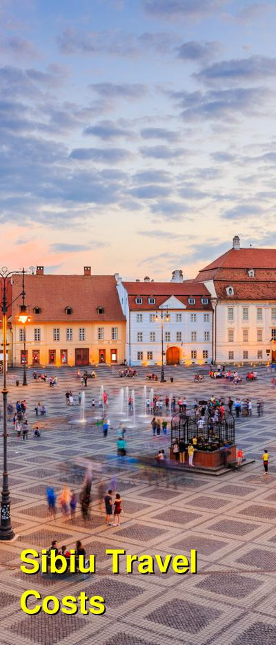 Sibiu Travel Cost - Average Price of a Vacation to Sibiu: Food & Meal Budget, Daily & Weekly Expenses | BudgetYourTrip.com