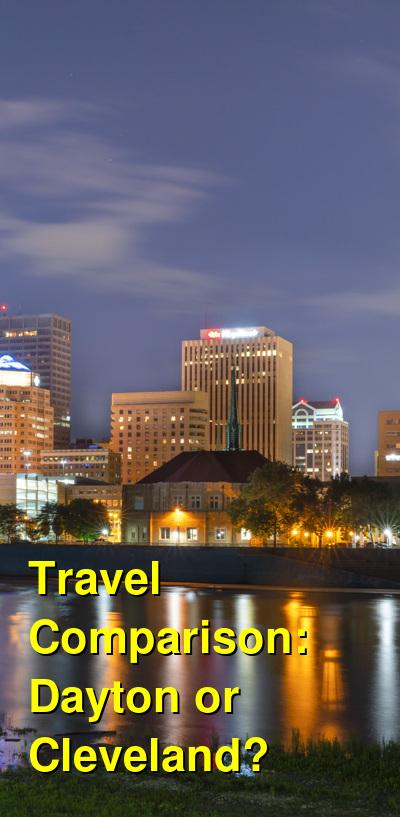 Dayton vs. Cleveland Travel Comparison