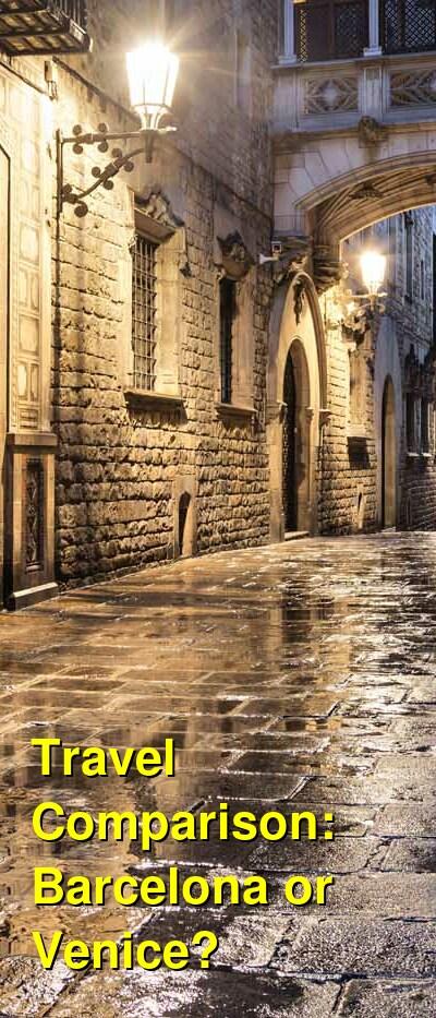 Barcelona vs. Venice Travel Comparison