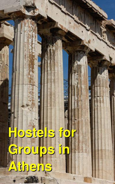 Hostels for Groups in Athens | Budget Your Trip