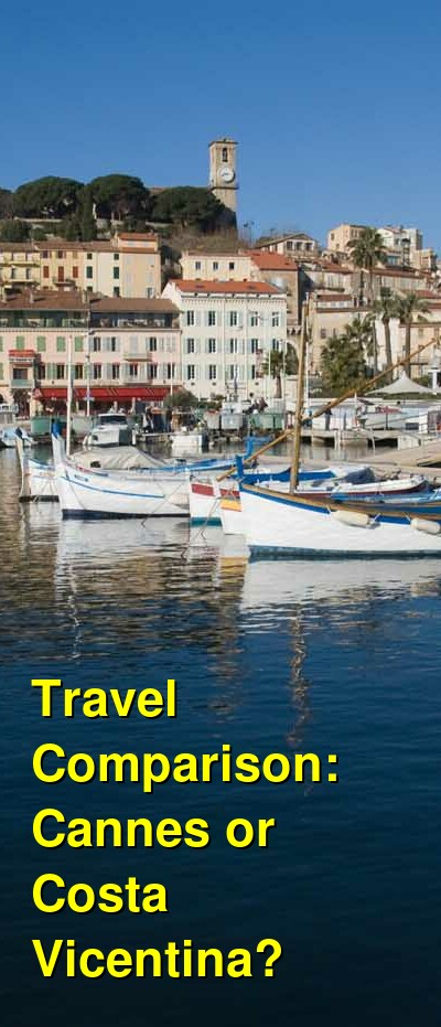 Cannes vs. Costa Vicentina Travel Comparison