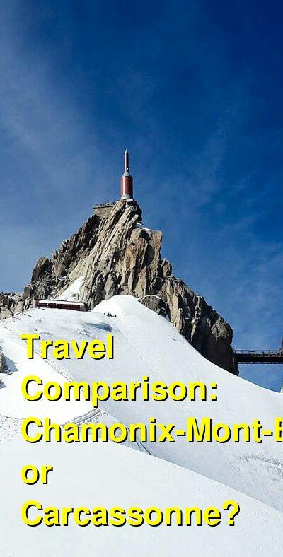 Chamonix-Mont-Blanc vs. Carcassonne Travel Comparison