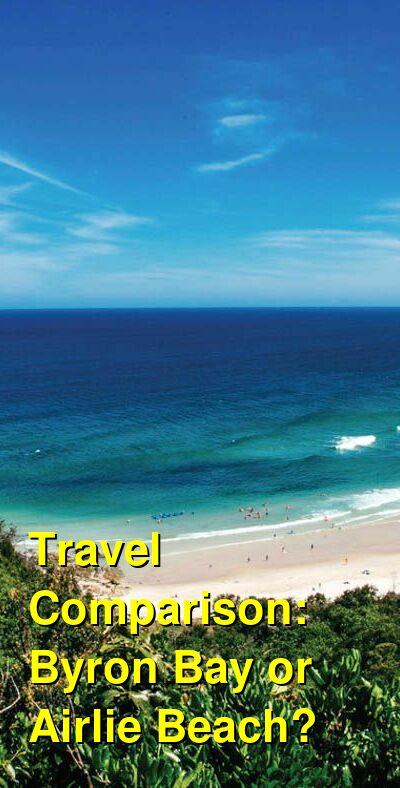 Byron Bay vs. Airlie Beach Travel Comparison