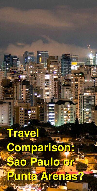 Sao Paulo vs. Punta Arenas Travel Comparison