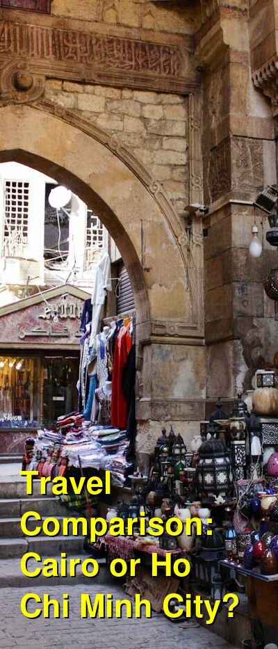 Cairo vs. Ho Chi Minh City Travel Comparison