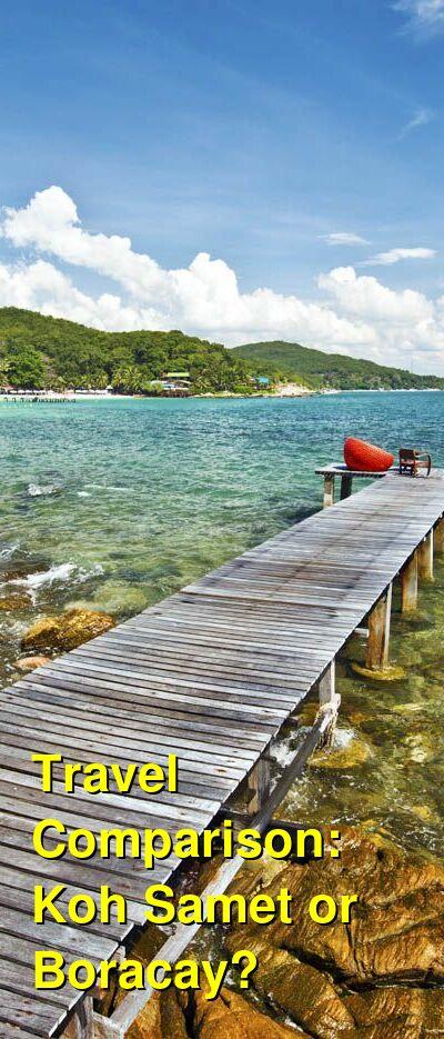 Koh Samet vs. Boracay Travel Comparison