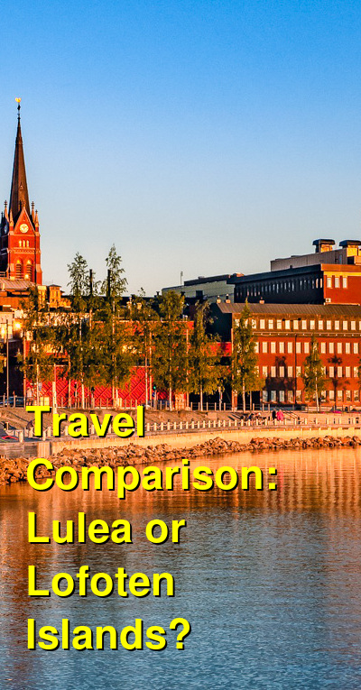 Lulea vs. Lofoten Islands Travel Comparison