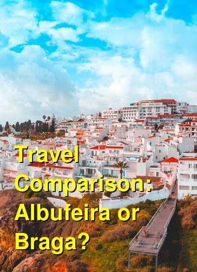 Albufeira vs. Braga Travel Comparison