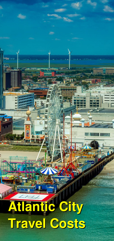 Atlantic City Travel Cost - Average Price of a Vacation to Atlantic City: Food & Meal Budget, Daily & Weekly Expenses | BudgetYourTrip.com