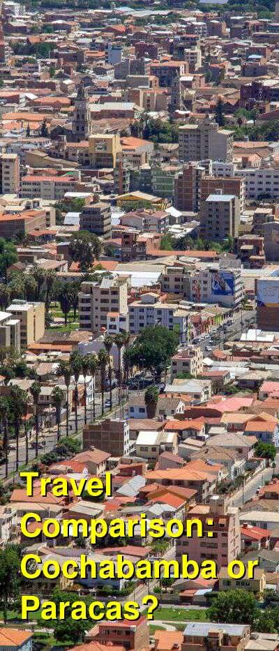 Cochabamba vs. Paracas Travel Comparison