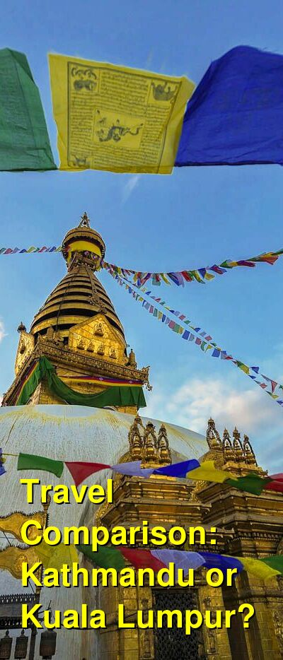 Kathmandu vs. Kuala Lumpur Travel Comparison