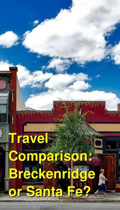 Breckenridge vs. Santa Fe Travel Comparison