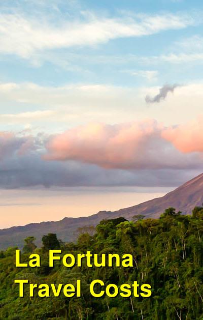 La Fortuna Travel Costs & Prices - Arenal, Fortuna Waterfall, Hot Springs Spas | BudgetYourTrip.com