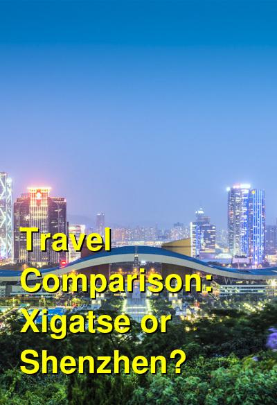 Xigatse vs. Shenzhen Travel Comparison