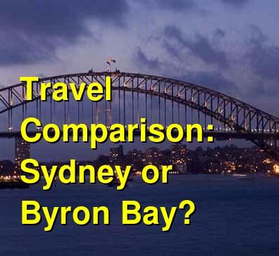 Sydney vs. Byron Bay Travel Comparison