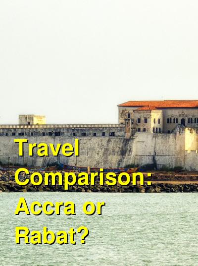 Accra vs. Rabat Travel Comparison