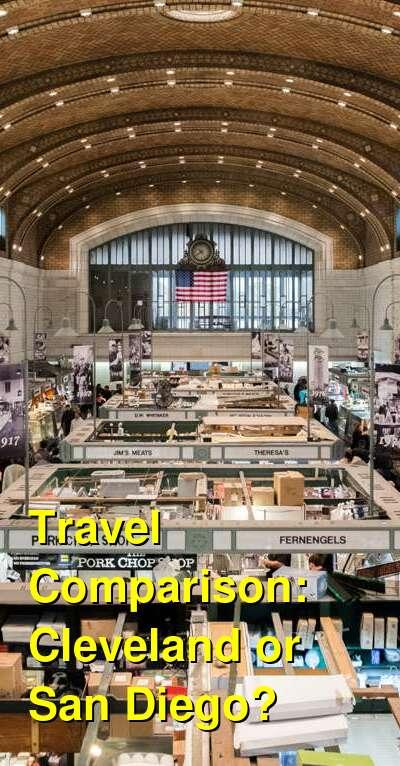 Cleveland vs. San Diego Travel Comparison