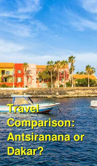 Antsiranana vs. Dakar Travel Comparison