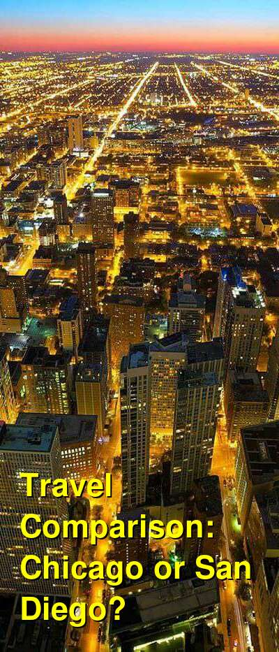 Chicago vs. San Diego Travel Comparison