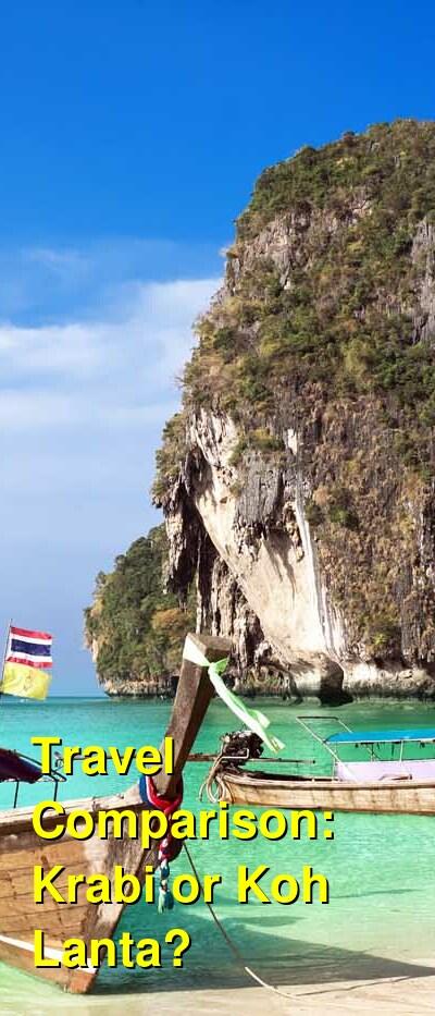 Krabi vs. Koh Lanta Travel Comparison