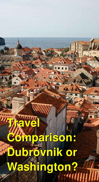Dubrovnik vs. Washington Travel Comparison