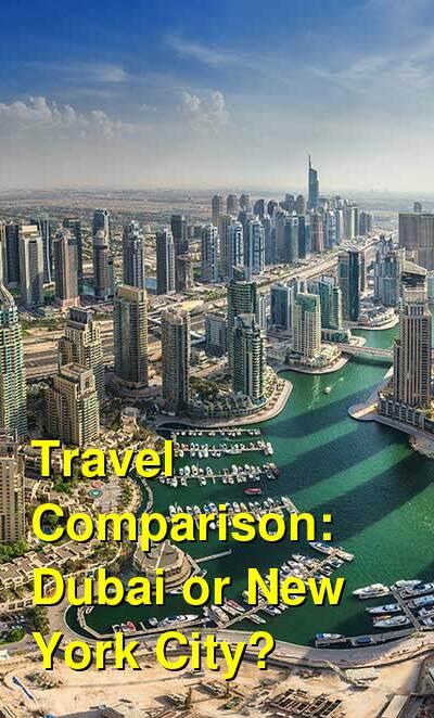 Dubai vs. New York City Travel Comparison
