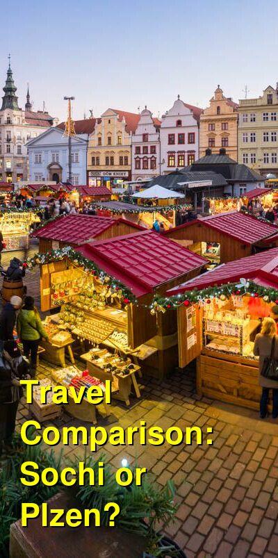 Sochi vs. Plzen Travel Comparison