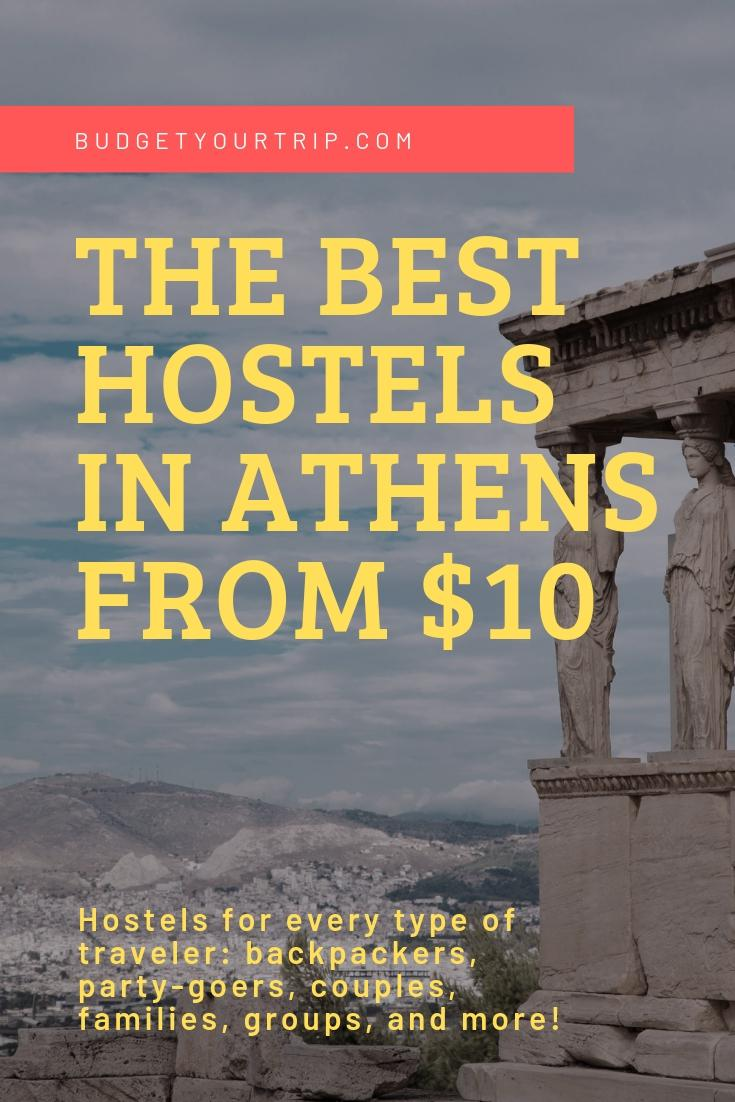 Best Hostels for Solo Travellers in Athens | Budget Your Trip
