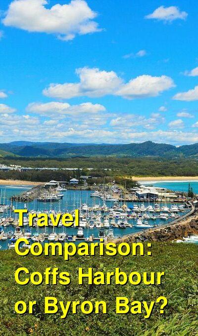 Coffs Harbour vs. Byron Bay Travel Comparison