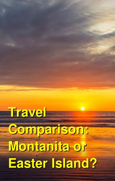 Montanita vs. Easter Island Travel Comparison