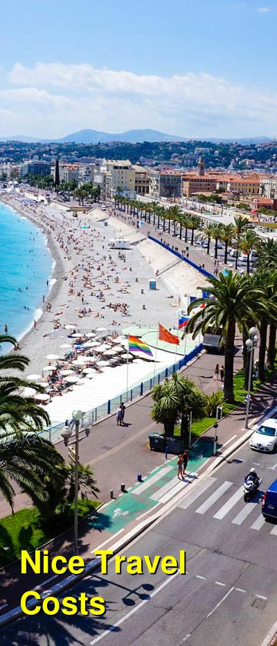 Nice Travel Cost - Average Price of a Vacation to Nice: Food & Meal Budget, Daily & Weekly Expenses | BudgetYourTrip.com