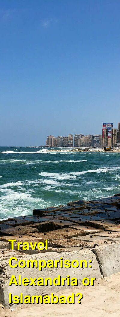 Alexandria vs. Islamabad Travel Comparison
