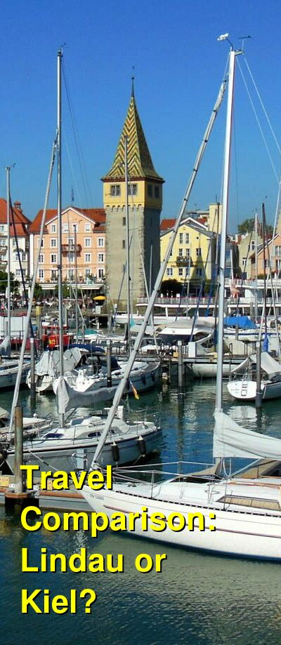 Lindau vs. Kiel Travel Comparison