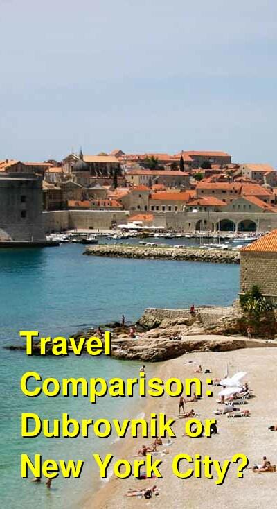 Dubrovnik vs. New York City Travel Comparison