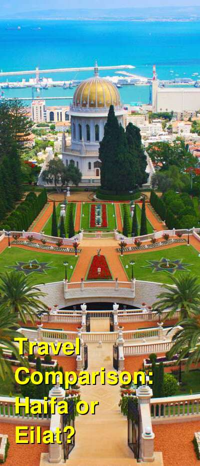 Haifa vs. Eilat Travel Comparison