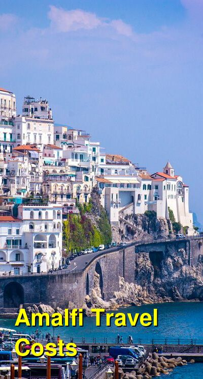 Amalfi Travel Cost - Average Price of a Vacation to Amalfi: Food & Meal Budget, Daily & Weekly Expenses | BudgetYourTrip.com