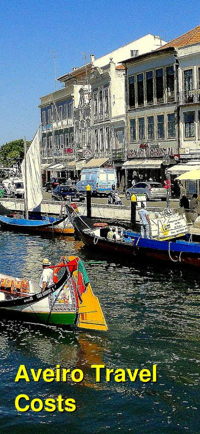 Aveiro Travel Costs & Prices   BudgetYourTrip.com