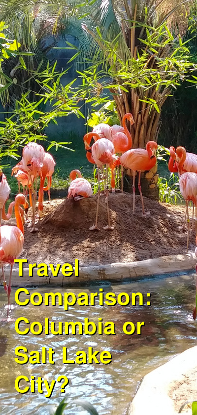 Columbia vs. Salt Lake City Travel Comparison