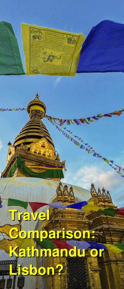 Kathmandu vs. Lisbon Travel Comparison