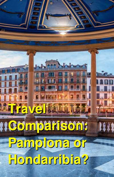 Pamplona vs. Hondarribia Travel Comparison