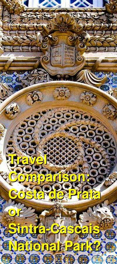 Costa de Prata vs. Sintra-Cascais National Park Travel Comparison
