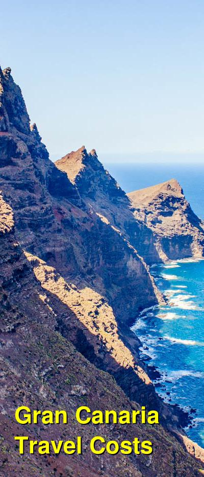 Gran Canaria Travel Cost - Average Price of a Vacation to Gran Canaria: Food & Meal Budget, Daily & Weekly Expenses | BudgetYourTrip.com