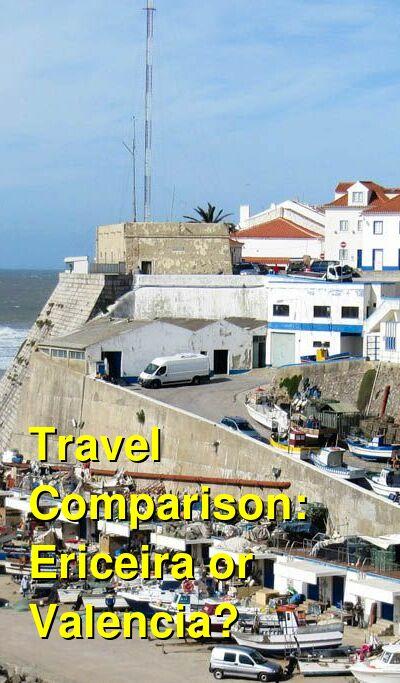 Ericeira vs. Valencia Travel Comparison