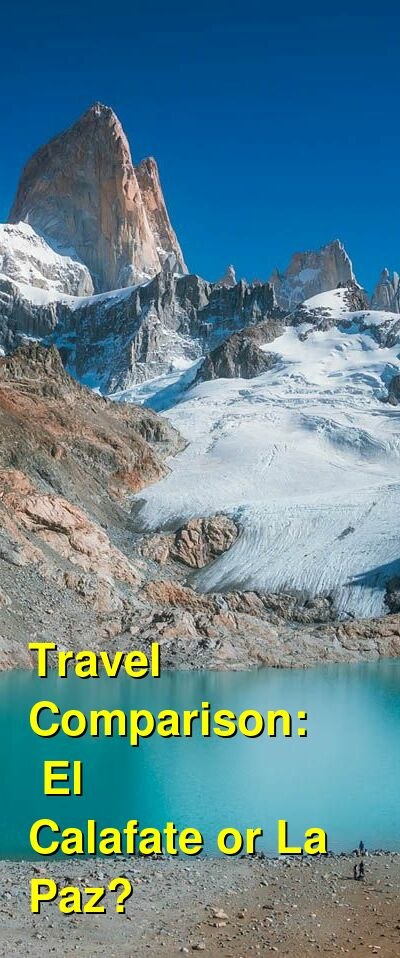 El Calafate vs. La Paz Travel Comparison