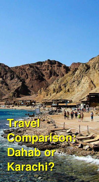 Dahab vs. Karachi Travel Comparison