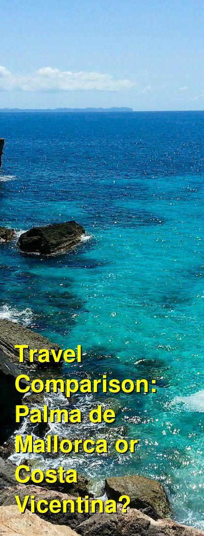 Palma de Mallorca vs. Costa Vicentina Travel Comparison