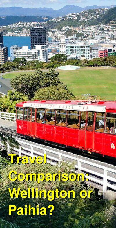 Wellington vs. Paihia Travel Comparison