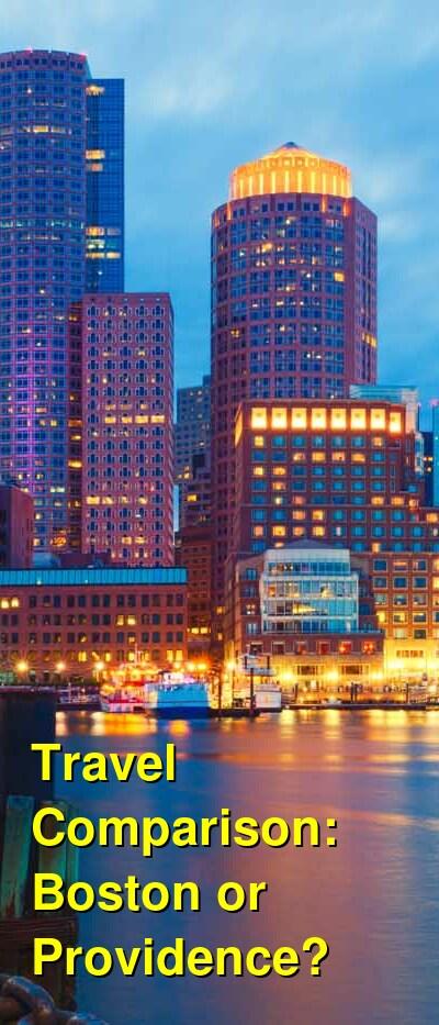 Boston vs. Providence Travel Comparison