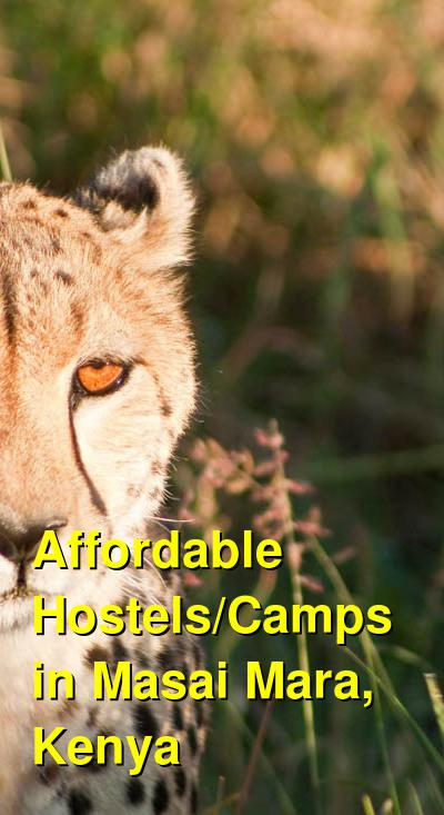 Affordable Hostels/Camps in Masai Mara, Kenya | Budget Your Trip