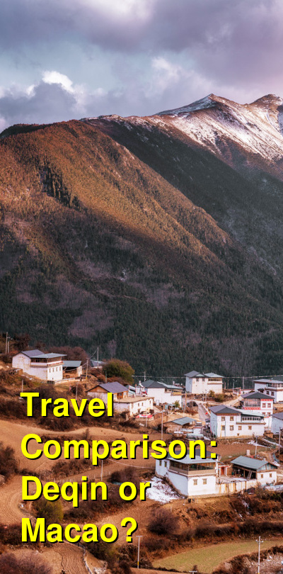 Deqin vs. Macao Travel Comparison